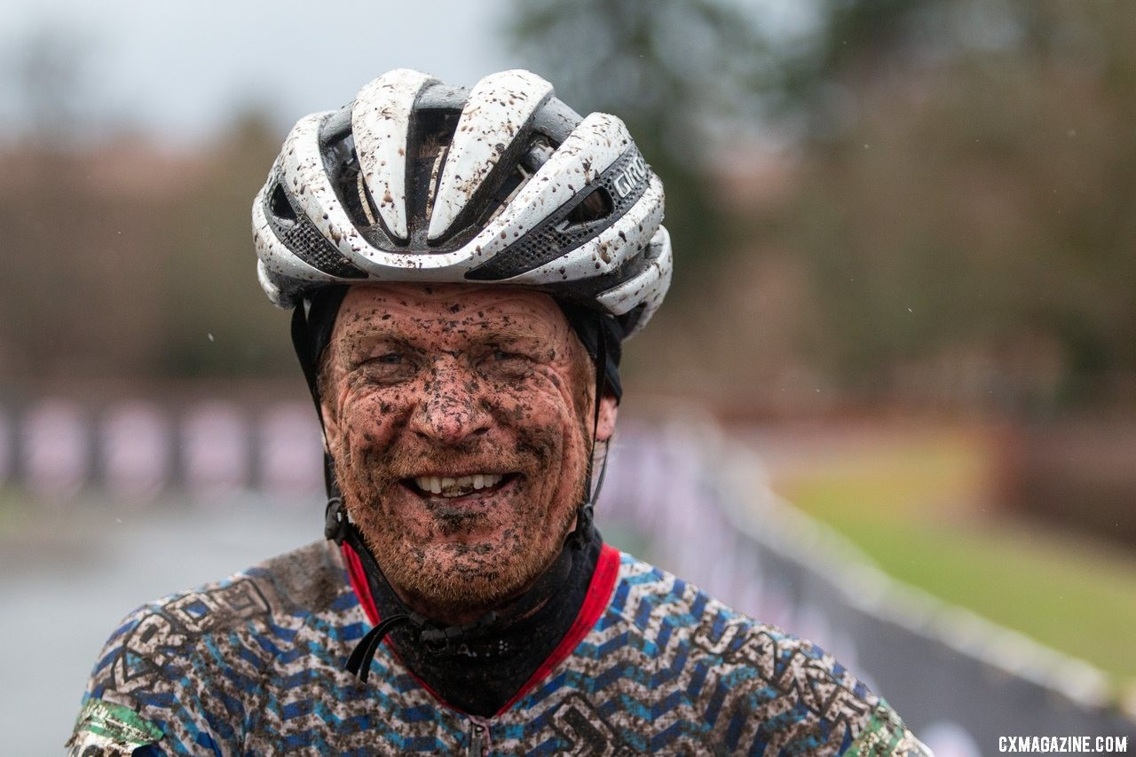 Don Myrah adds yet another #cxnats title. Masters 50-54. 2019 Cyclocross National Championships, Lakewood, WA. © A. Yee / Cyclocross Magazine