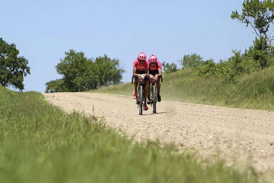 2019 Men's Dirty Kanza 200 Gravel Race. © Z. Schuster / Cyclocross Magazine