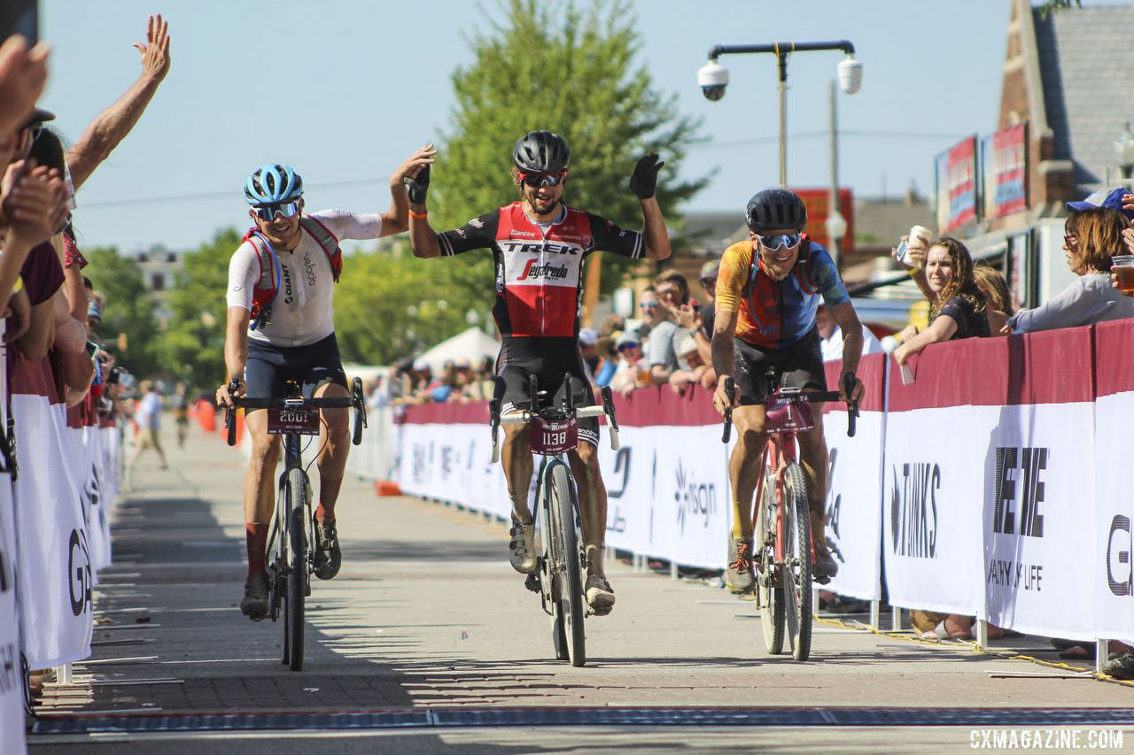 This year's Dirty Kanza 200 was a memorable experience for WorldTour pros. © Z. Schuster / Cyclocross Magazine