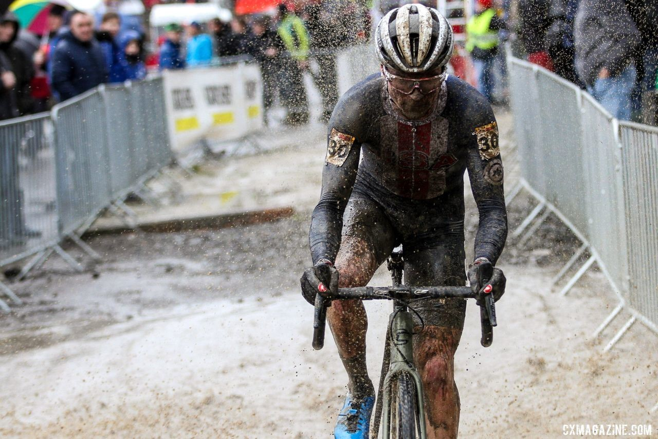 This year's course had a little of everything. U23 Men, 2019 Namur UCI Cyclocross World Cup. © B. Hazen / Cyclocross Magazine