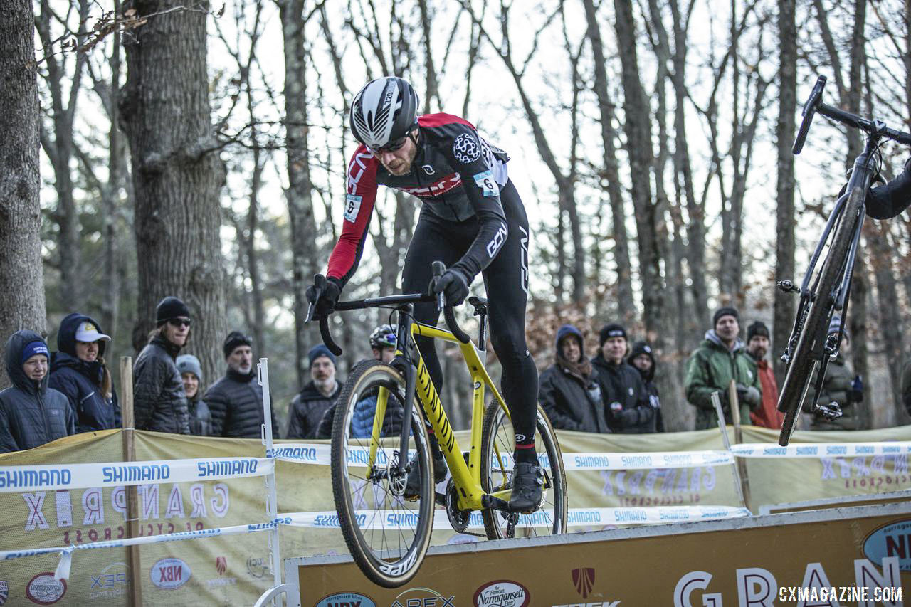 Jeremy Powers had a new bike but the same old hops. 2019 NBX Gran Prix of Cross Day 1. © Angelica Dixon