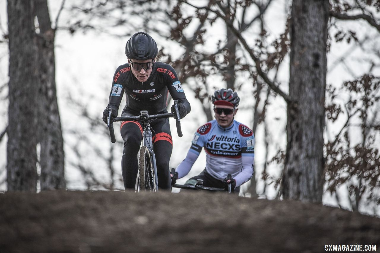 Sam Noel came into Sunday's race looking to battle against Lane Maher. 2019 NBX Gran Prix of Cross Day 2. © Angelica Dixon