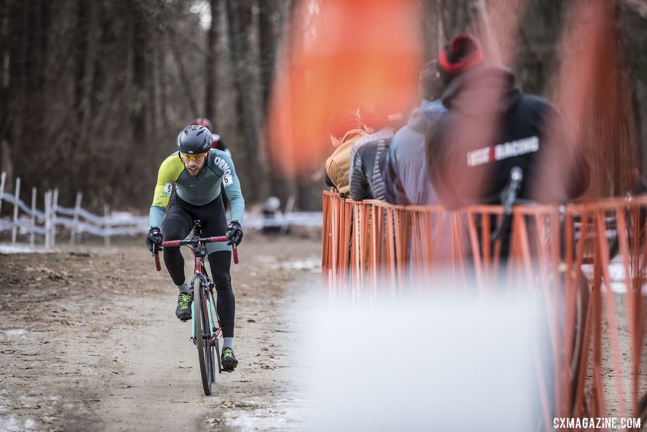 Ben Frederick rolls past the pits. 2019 NBX Gran Prix of Cross Day 2. © Angelica Dixon