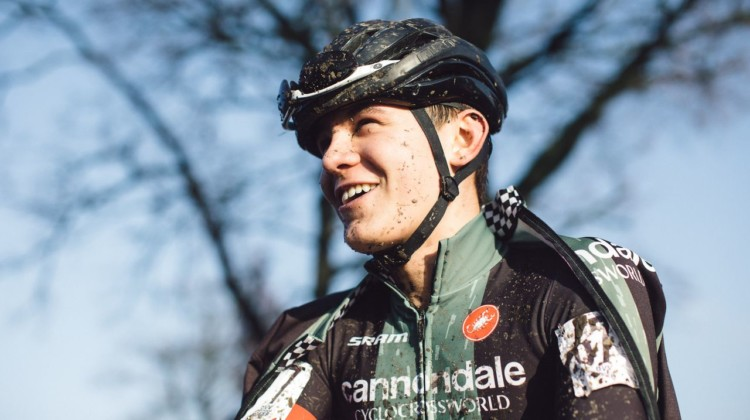 Ivan Gallego is participating in the 2019 EuroCrossCamp program in Belgium. © Balint Hamvas