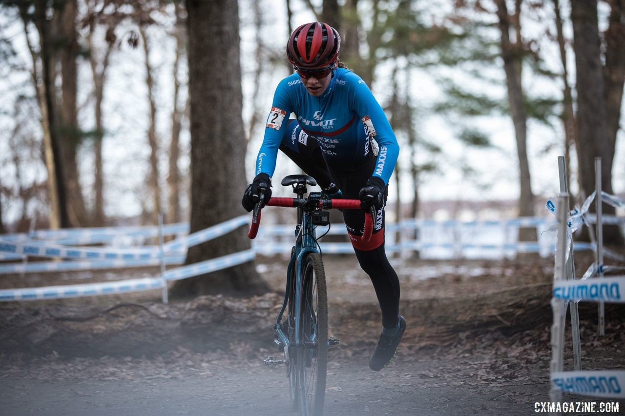 Ruby West finished third on Sunday. 2019 NBX Gran Prix of Cross Day 2. © Angelica Dixon