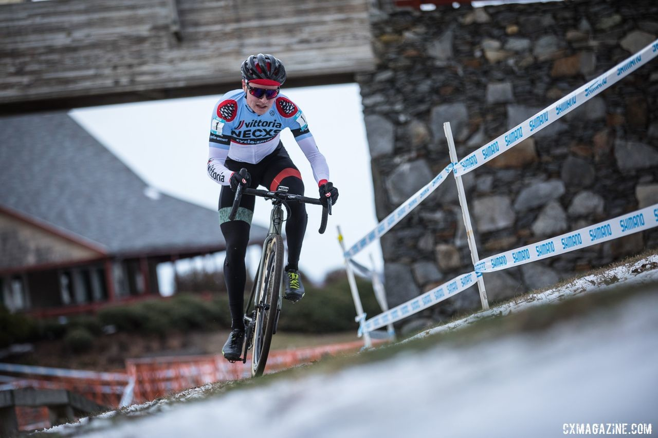 Lane Maher took home the Sunday win and Vittoria Series overall. 2019 NBX Gran Prix of Cross Day 2. © Angelica Dixon