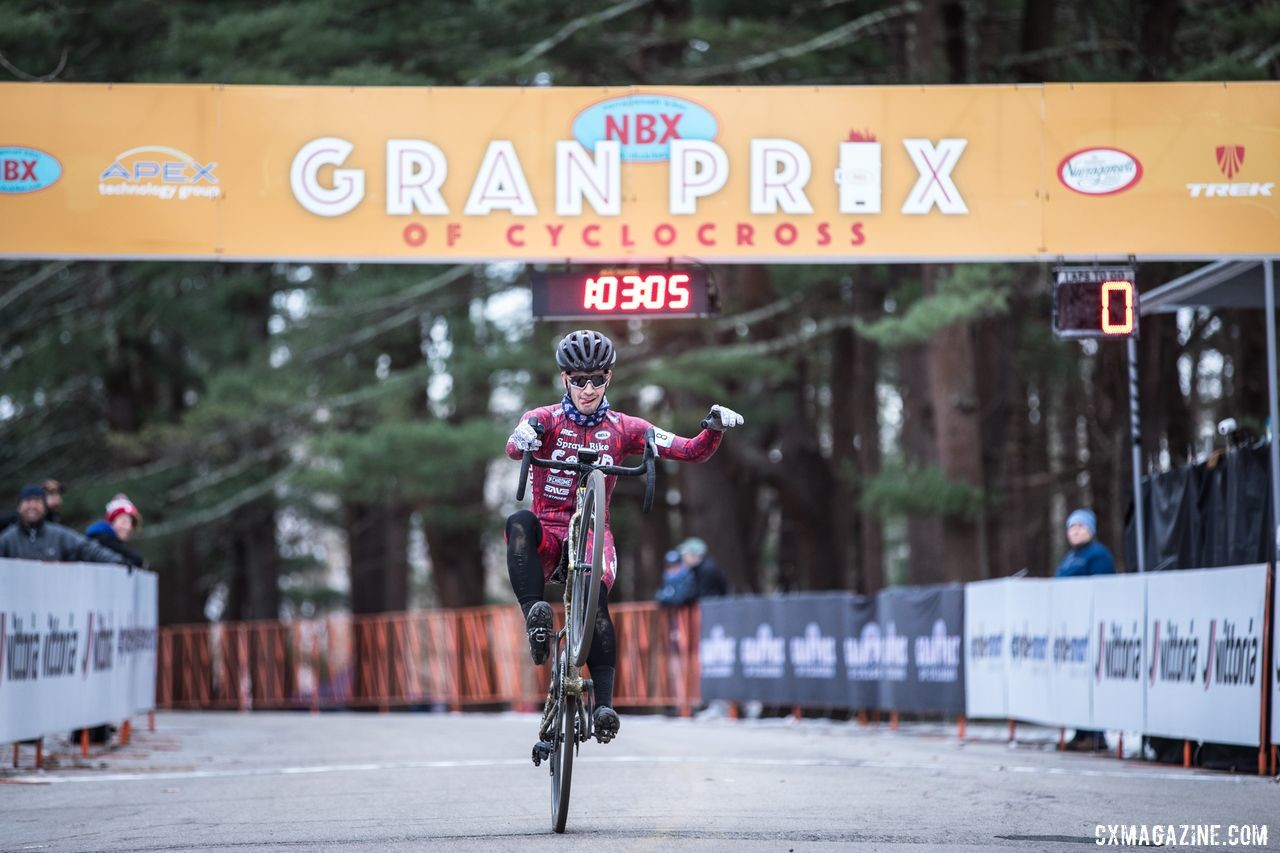 Ben Gomez Villafane had a wheelie nice weekend, finishing third on Sunday. 2019 NBX Gran Prix of Cross Day 2. © Angelica Dixon