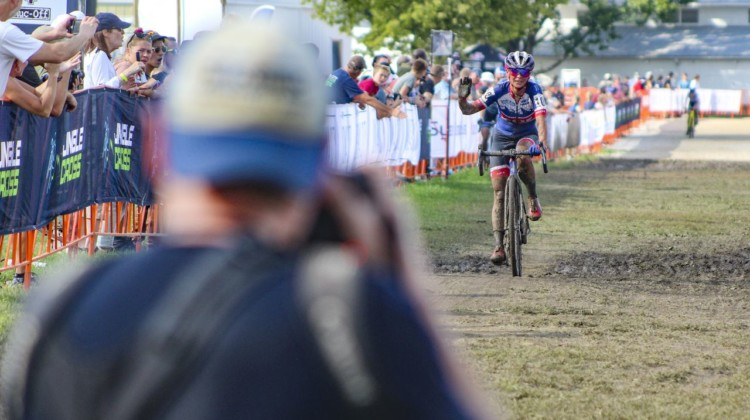 Bruce Buckley has slowly built up to where he's at. © Z. Schuster / Cyclocross Magazine