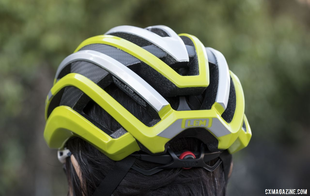 The LEM helmet has excellent ventilation. © Cyclocross Magazine