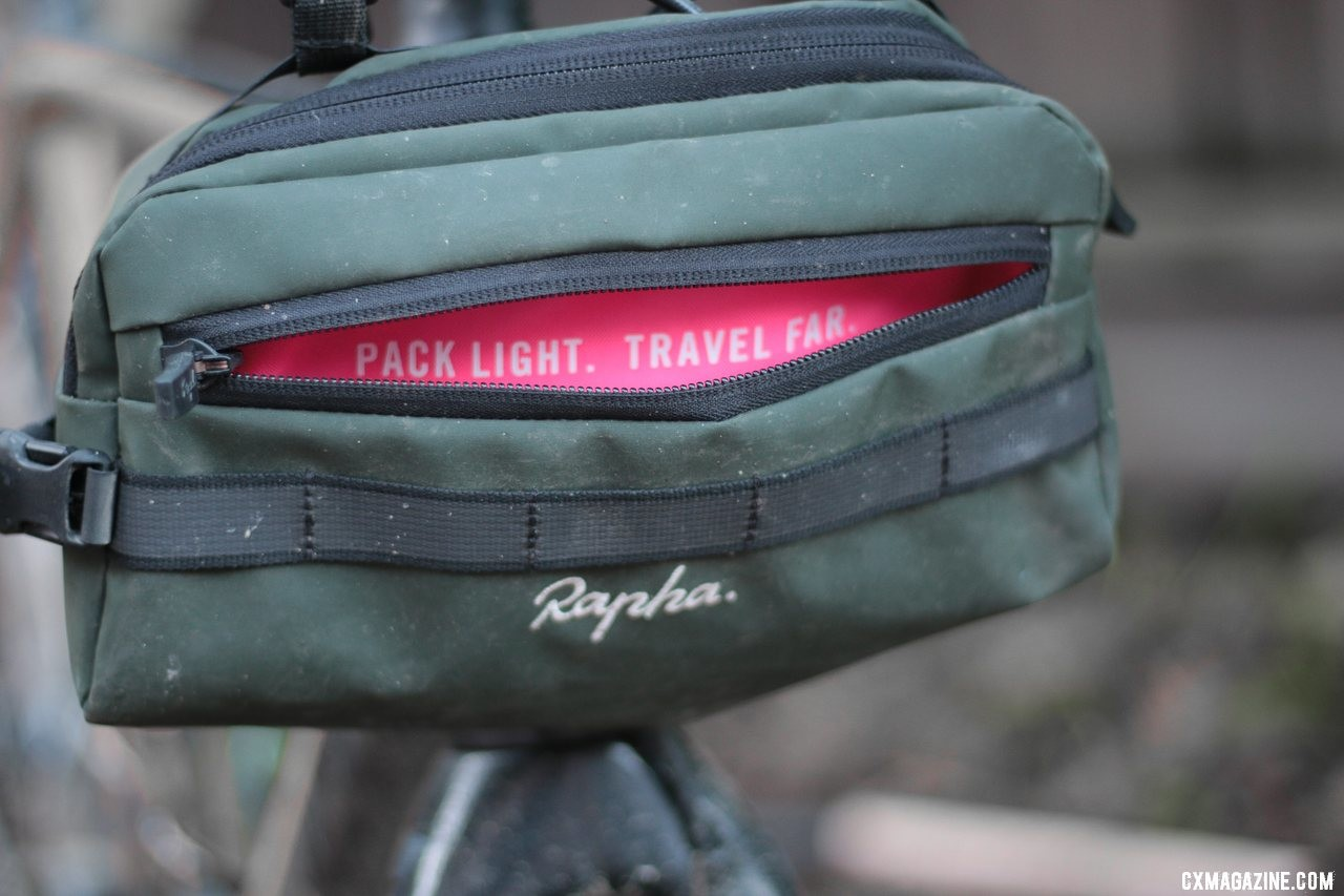 It wouldn't be Rapha without pink and a motivational language. © Cyclocross Magazine