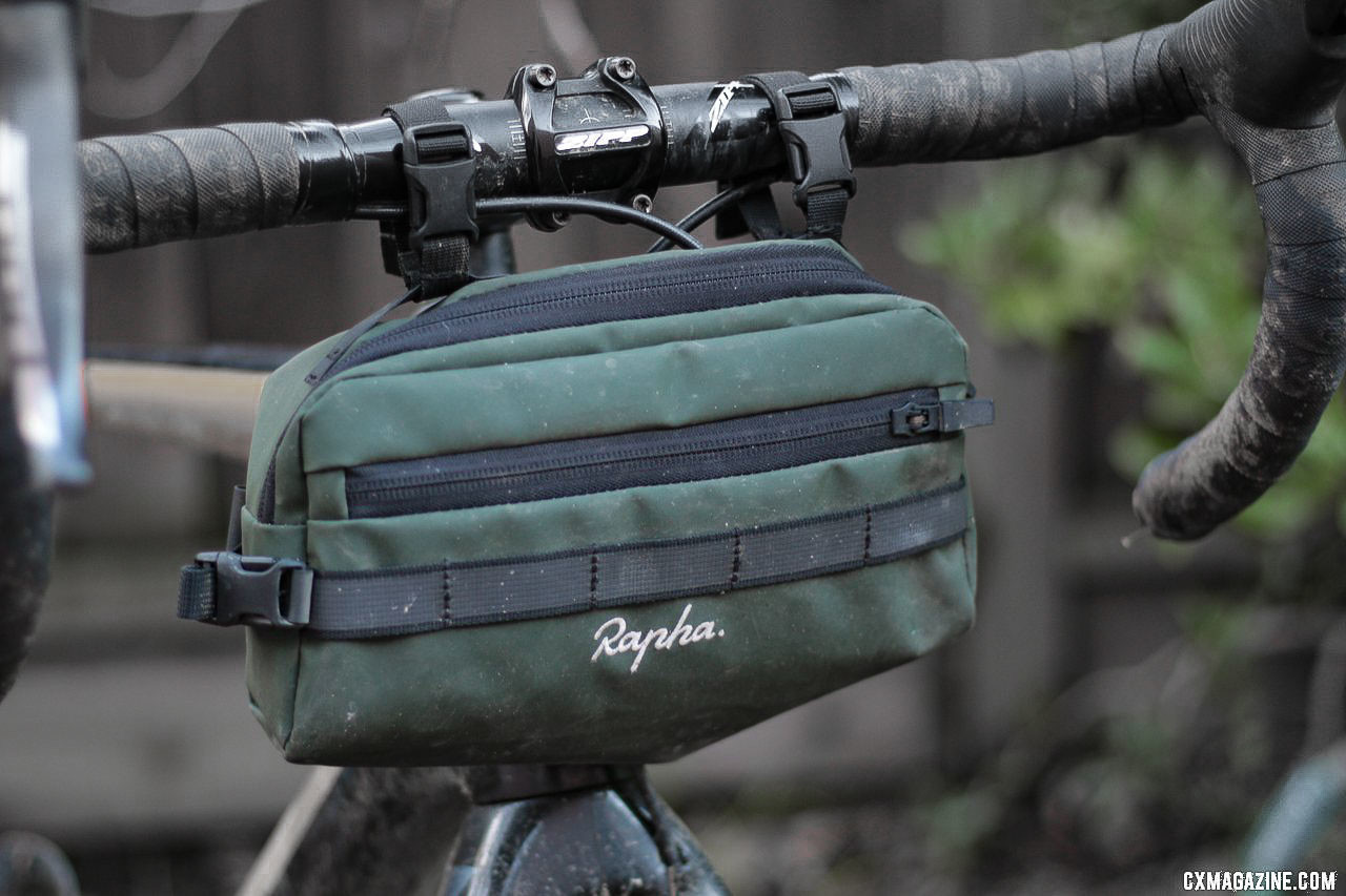 It's the right size for a long day ride, and can double as a frame bag or shoulder bag. © Cyclocross Magazine