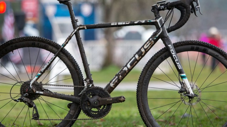George Smith's National Championship Focus Mares, 2019 Cyclocross National Championships, Lakewood, WA.