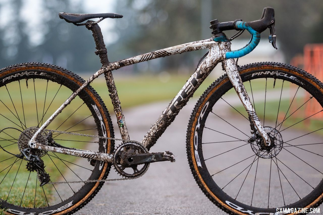 Andrew Strohmeyer's Trek Boone. 2019 USA Cycling Cyclocross National Championships bike profiles, Lakewood, WA. © A. Yee / Cyclocross Magazine
