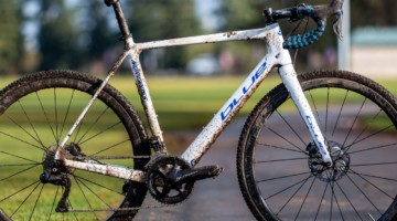 Eric Brunner's 2019 U23 National Championships Blue Norcross Team Edition. © A. Yee / Cyclocross Magazine