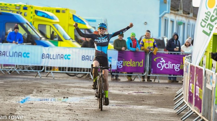 Maria Larkin traveled from Chicago to win her first Irish Nationals. © Sean Rowe