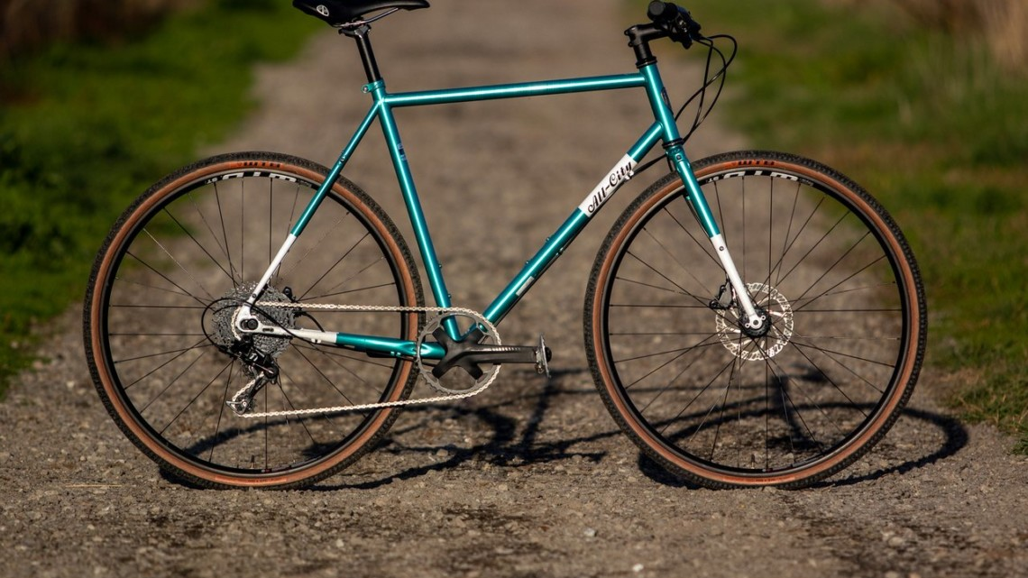 The new All-City Super Professional cyclocross bike comes in both 1x and singlespeed build options. © Cyclocross Magazine