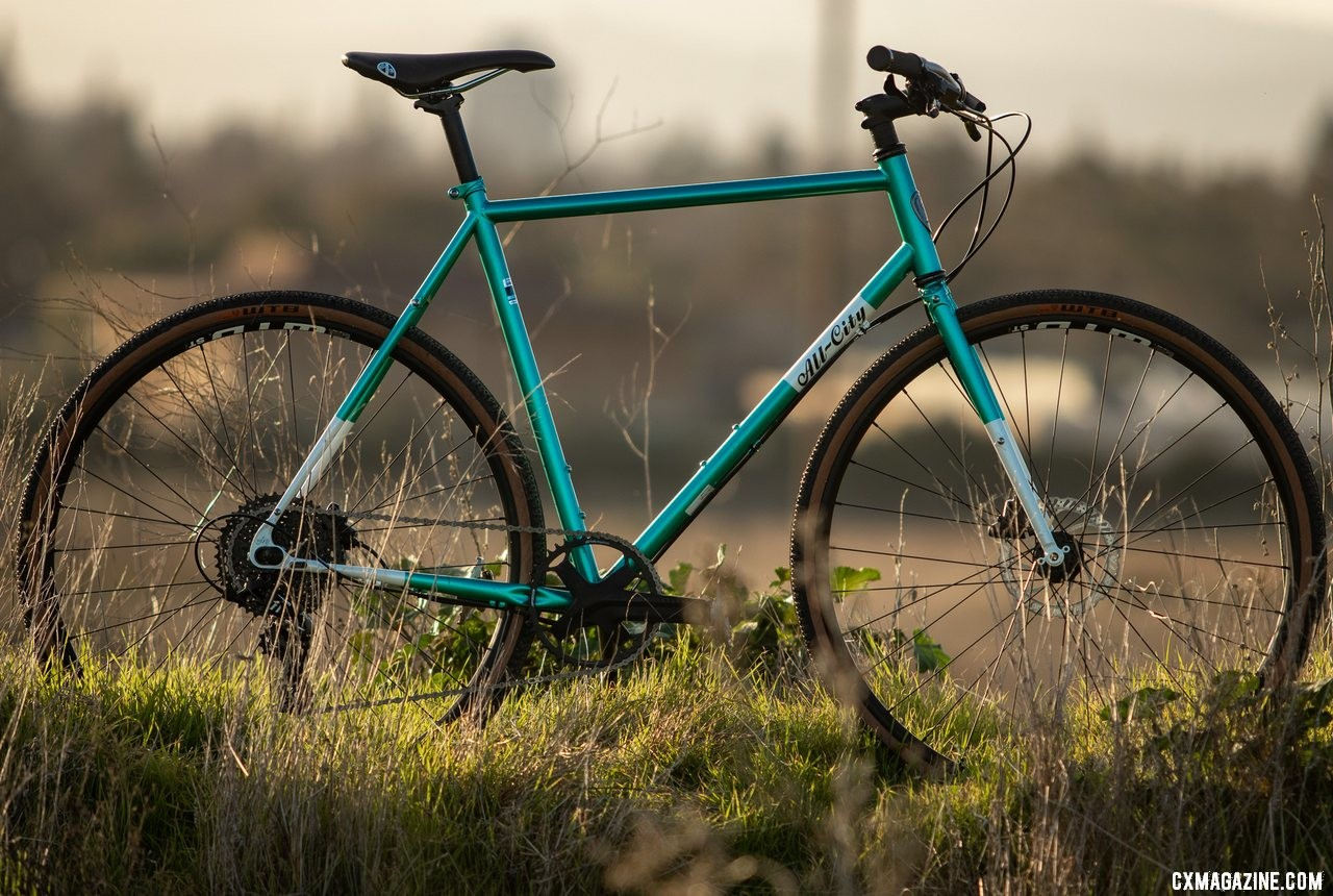 The new All-City Super Professional cyclocross bike is the bike many of us want to put together but never have time to. © Cyclocross Magazine
