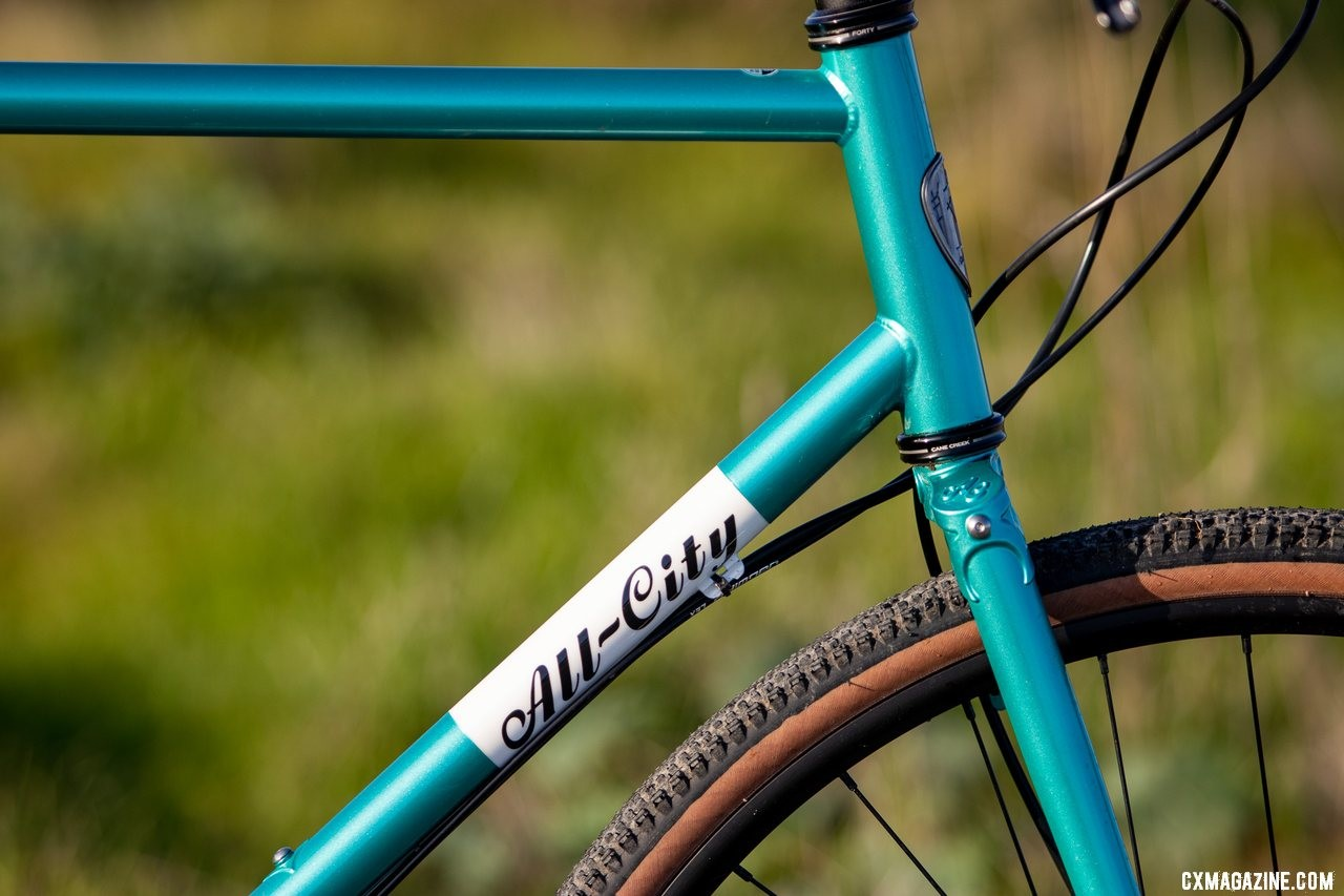 The new All-City Super Professional cyclocross bike. © Cyclocross Magazine