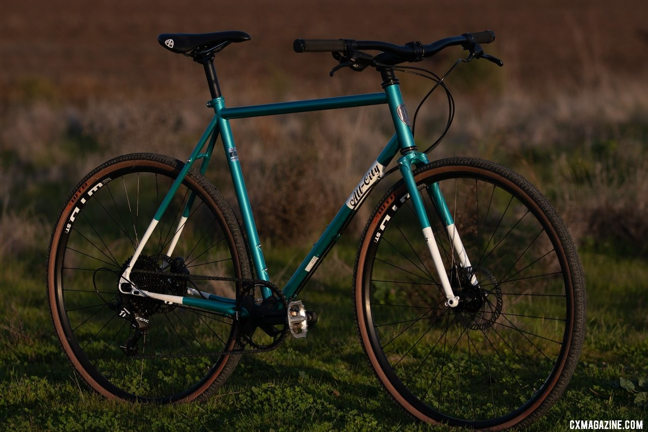 The new All-City Super Professional cyclocross bike might be the ultimate N+1 argument. © Cyclocross Magazine