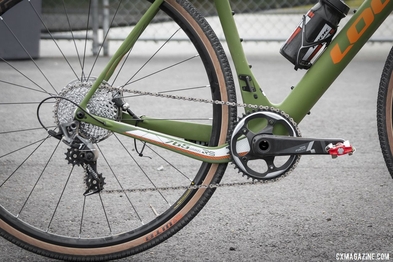 Our review bike came with a SRAM Force 1 build. Look 765 Gravel RS © C. Lee / Cyclocross Magazine