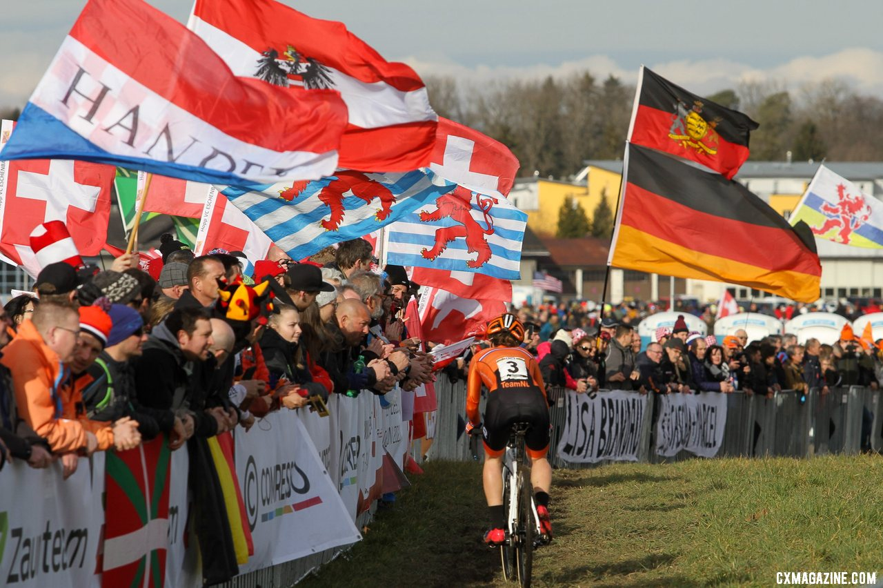 2020 UCI Cyclocross World Championships, Dübendorf, Switzerland. © B. Hazen / Cyclocross Magazine