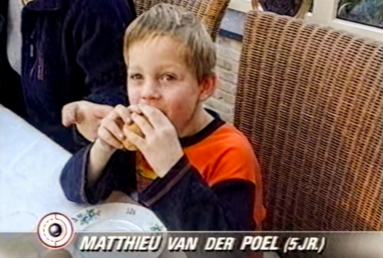At five years old, Mathieu van der Poel knew he wanted to be a pro cyclist.