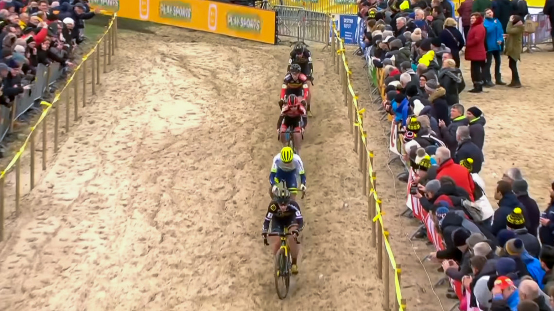 2020 Superprestige Middelkerke cyclocross video replay stream