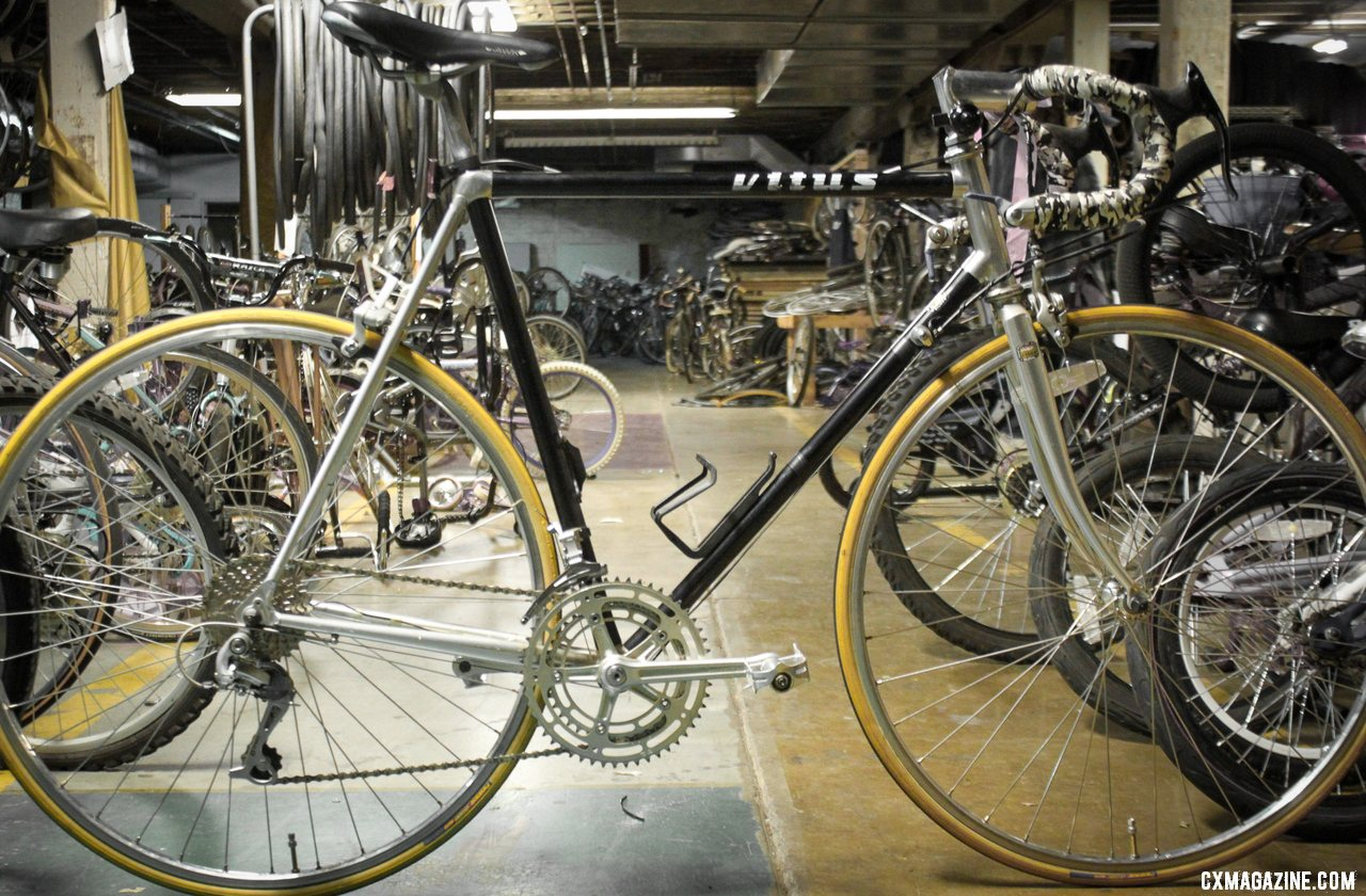 Nonprofits like Bicycles for All and Silicon Valley Bicycle Exchange have a selection of vintage rides for sale that would make perfect L'Eroica rides. nonprofit bike shop. © B. Grant / Cyclocross Magazine