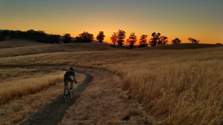Ride outdoors, by yourself, when the trails aren't crowded, but pack the saddle bag and don't take risks.