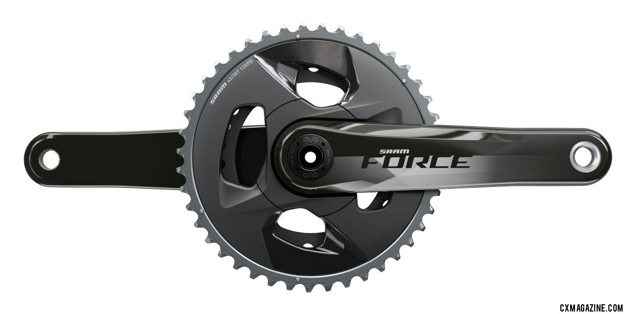 SRAM's Force AXS eTap drivetrain adds lower and wider gearing options with a new crankset and cassette, both which require new derailleurs. photo: SRAM