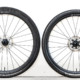 700C with 39mm tire vs 650B with 49mm tire (actual tire widths). © C. Lee / Cyclocross Magazine