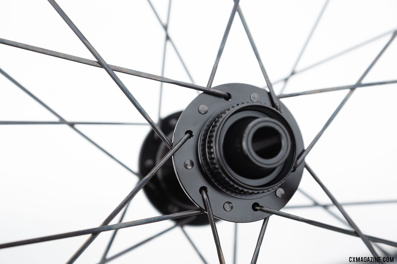 The new Zipp 303 S carbon disc brake tubeless wheel comes with Centerlock rotor mounts. © Cyclocross Magazine