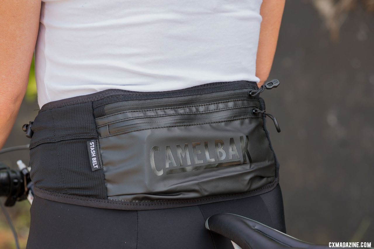 Camelbak Stash Belt is thin and adds storage pockets for essentials. © Cyclocross Magazine