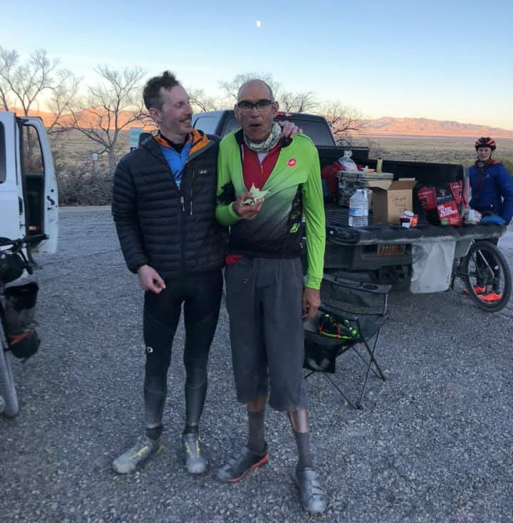 Robert Kennedy and John Hernandez, promoters of the Salty Lizard 100 and Stupid Pony gravel events. photo: courtesy