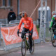 Corey Coogan Cisek tests herself on Europe's hardest courses and now for COVID-19 before each race. © Alain Vandepontseele