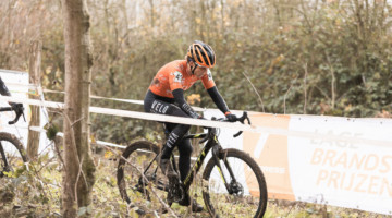 Corey Coogan Cisek tears it up at Superprestige Gavere. © fellusch.com