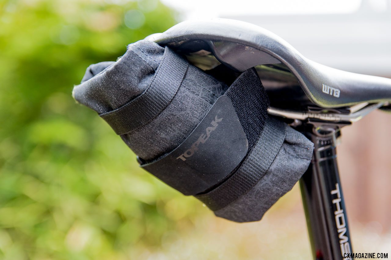 Cycling essentials and gift ideas: Topeak Burrito saddle roll/bag. © Cyclocross Magazine