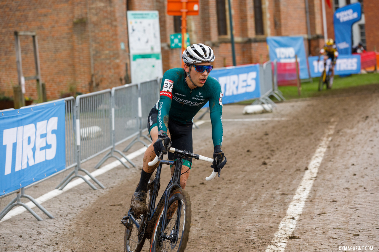 White would go on to place 22nd at Overijse. © Alain Vandepontseele / Cyclocross Magazine
