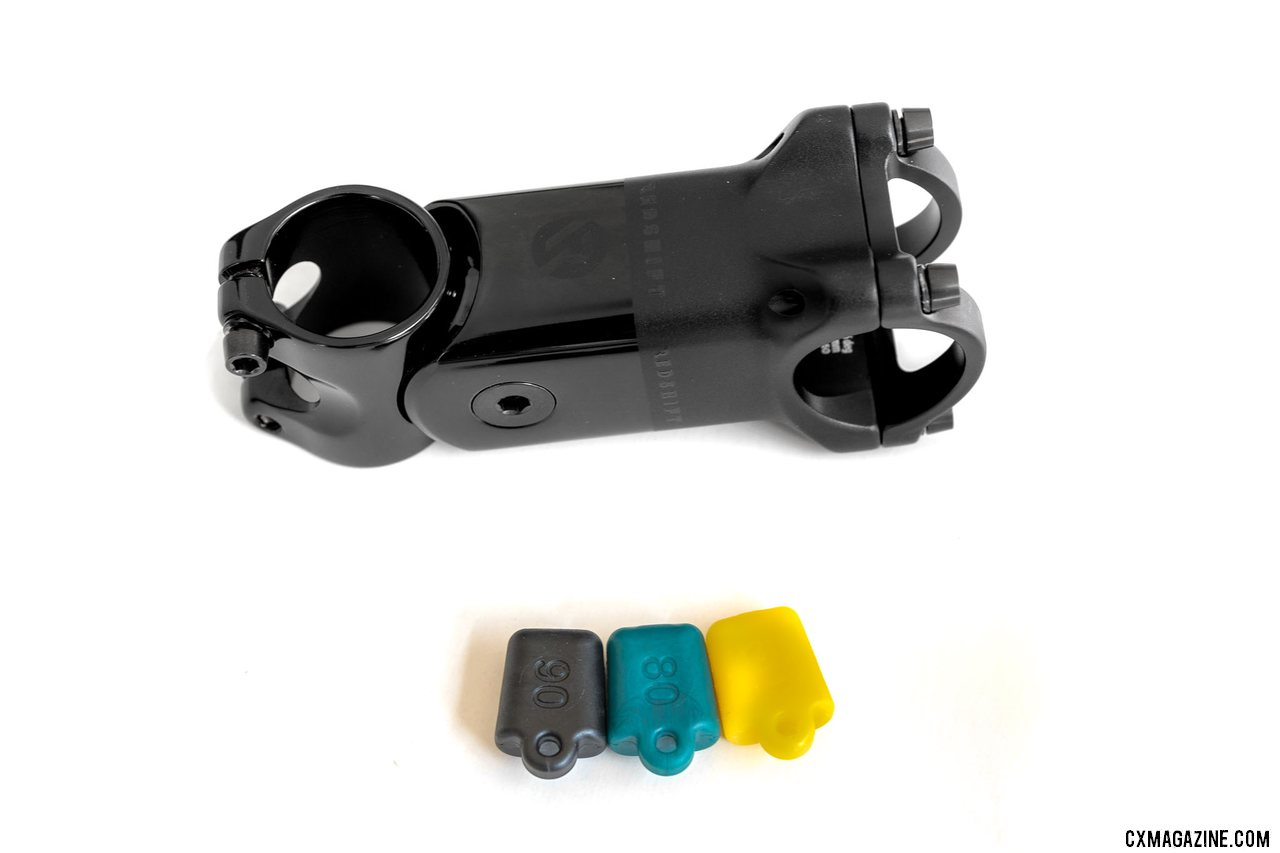 Shockstop Pro stem with different elastomer inserts to fine tune the 'suspension'