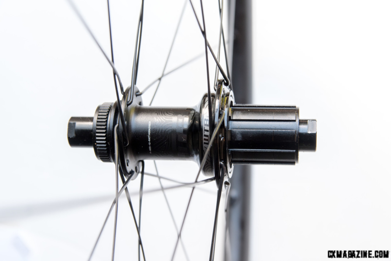 WTB Frequency hub with 5 degrees of engagement and a choice of pawl spring tension. © C.Lee/Cyclocross Magazine