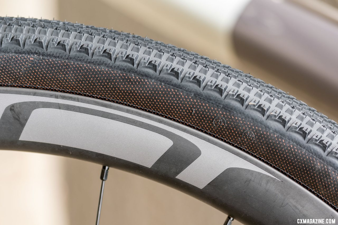 Hutchinson Touareg has a 127tpi casing with a 'Hardskin' outer layer for extra durability.