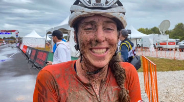 Erica Zaveta talks with Cyclocross Magazine after the Fayetteville World Cup