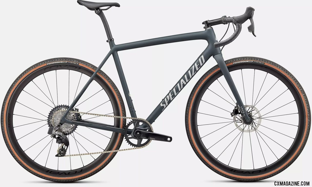 The $6k 2022 Specialized CruX Expert Gravel / Cyclocross Bike with SRAM AXS Rival.