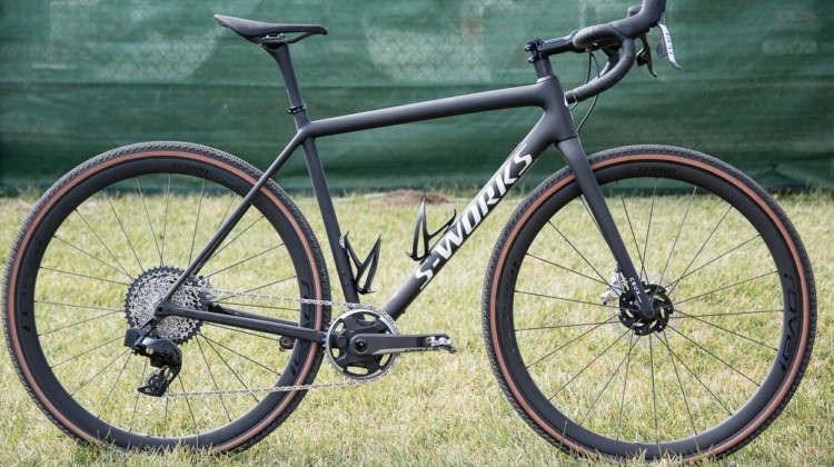 The new 2022 Specialized CruX gravel / cyclocross bike has received a few tweaks, and a lot of hype and hysteria. © C. Lee / Cyclocross Magazine