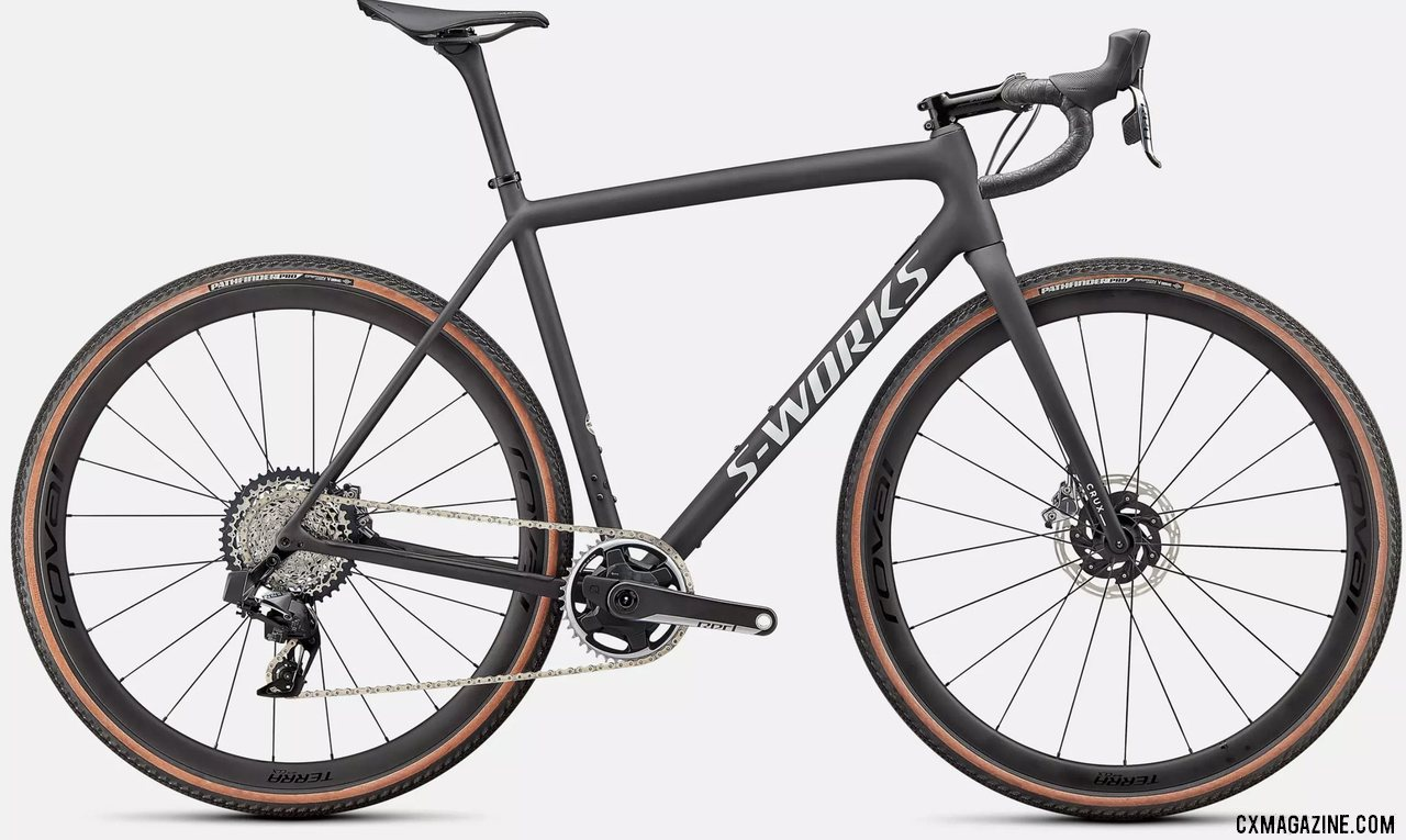 The $12k 2022 S-Works Specialized CruX Gravel / Cyclocross Bike with SRAM AXS Red.